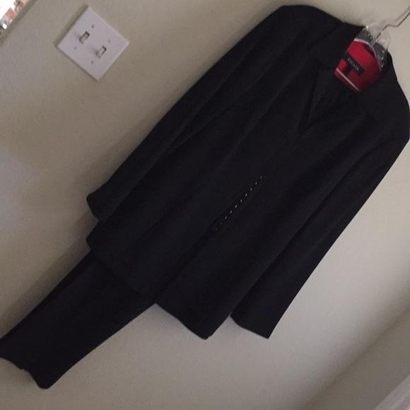 Escada Jackets & Blazers - EACADA vintage black suit